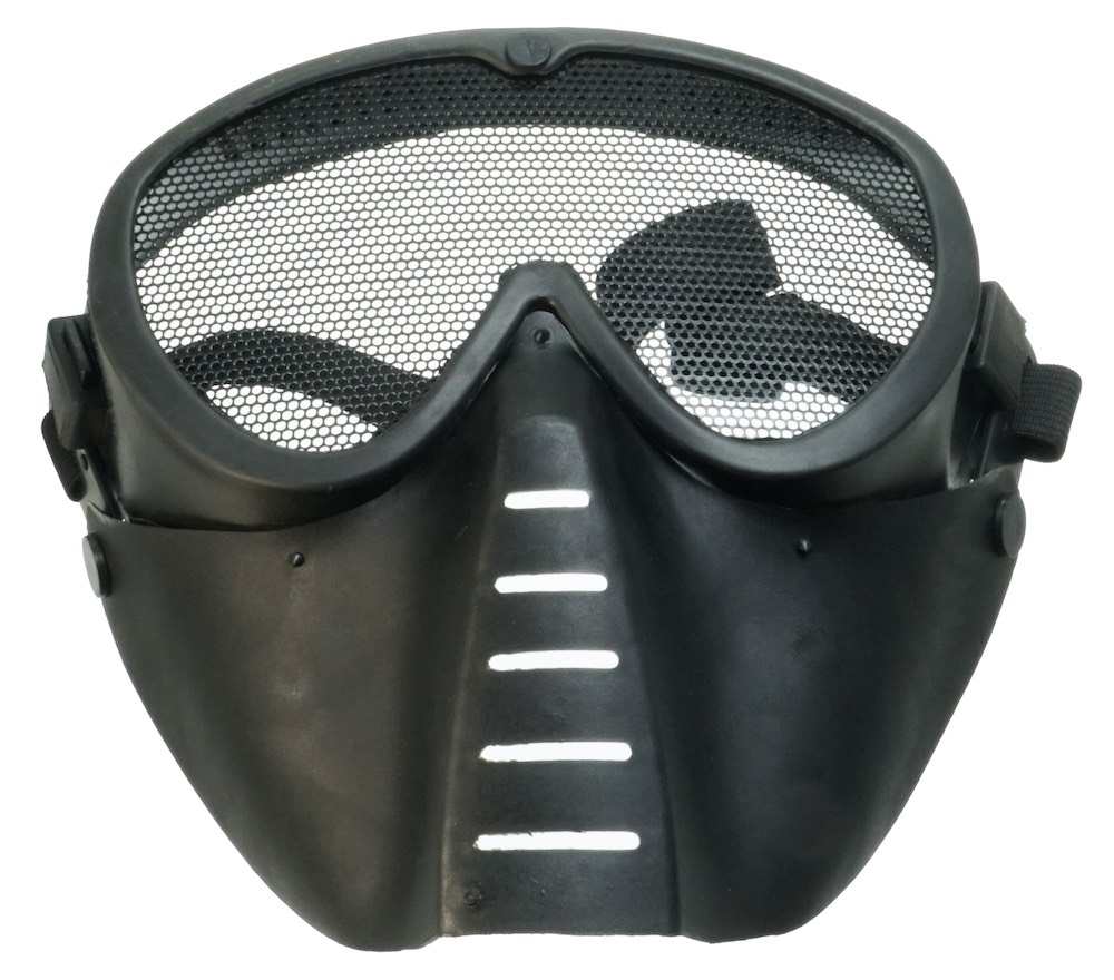 MIL-FORCE ミルフォース フェイスマスク (ブラック) FM-M01-BK