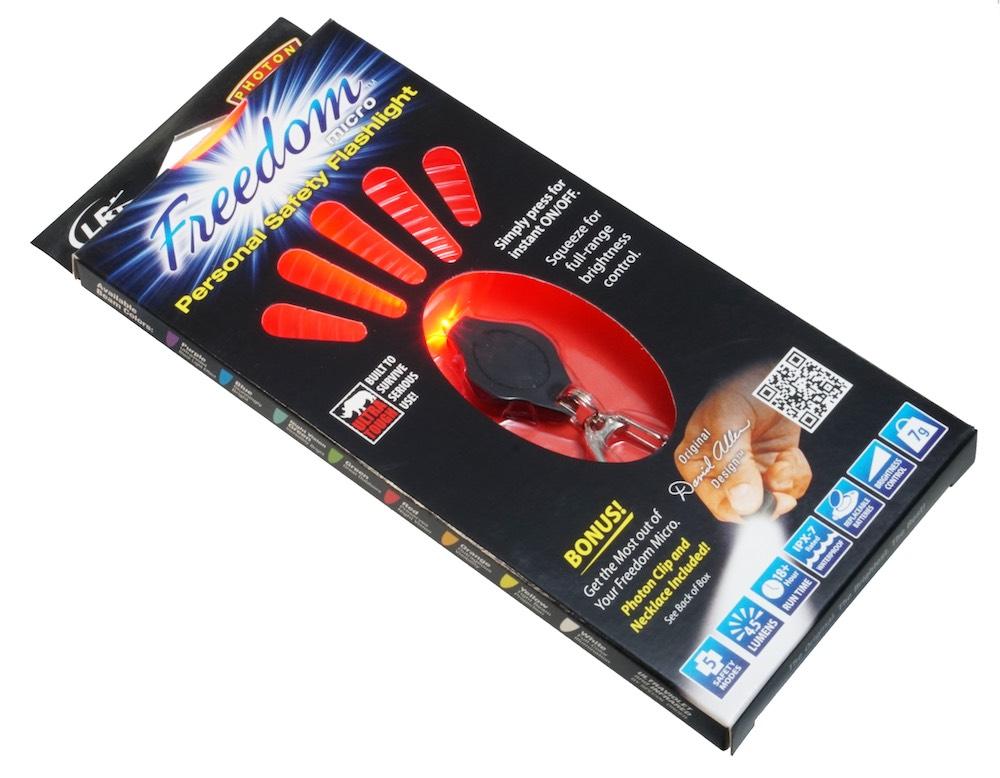 PHOTON 赤フォトン Freedom microフリーダムマイクロ LEDポケットライト(赤色LED)