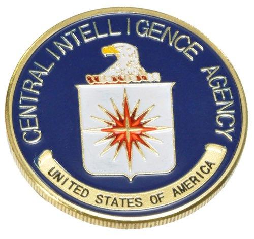US.チャレンジコイン CIA ゴールド / 記念メダル