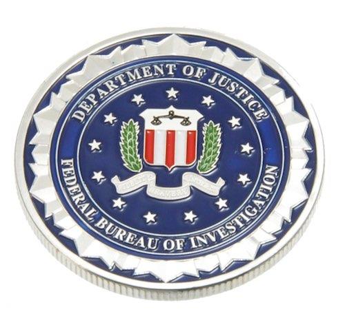 チャレンジコイン FBI シルバー / 記念メダル