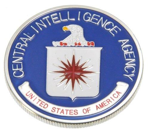 チャレンジコイン CIA シルバー / 記念メダル