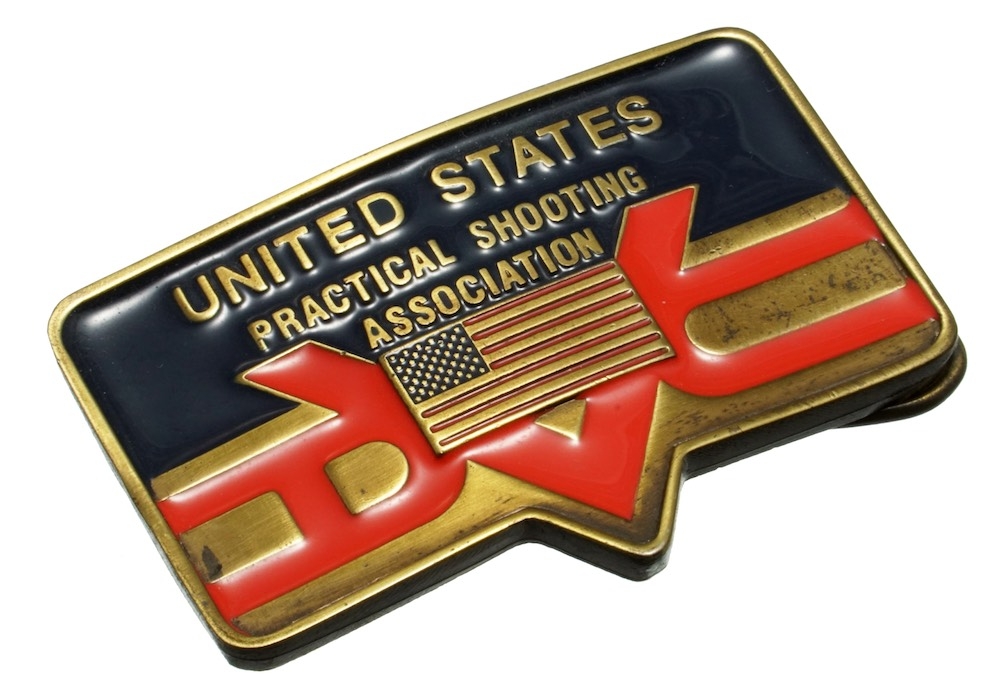 USPSA(全米プラクティカル シューティング協会)公認バックル