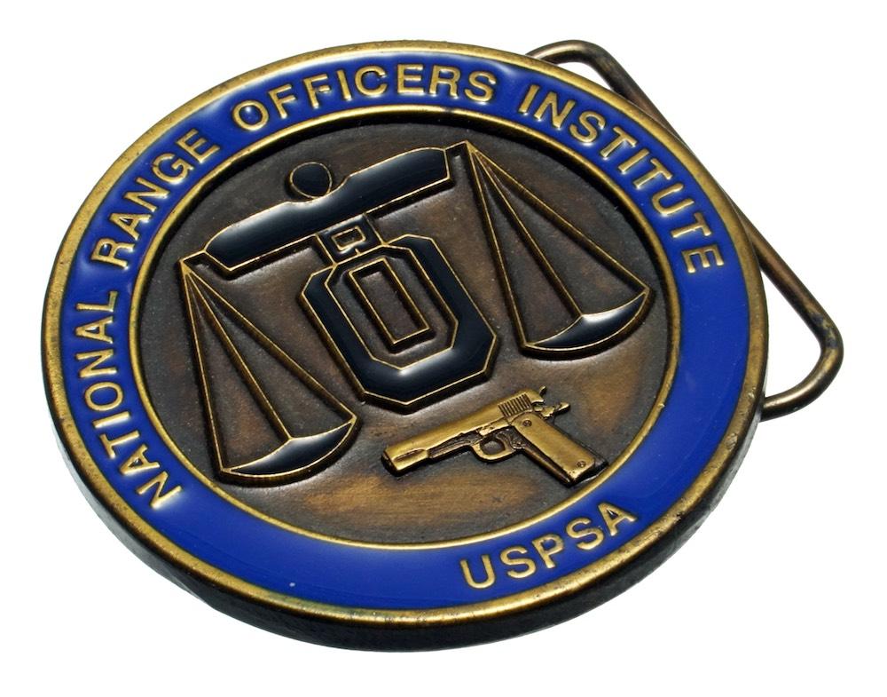 NROI(ナショナル レンジオフィサー インスティテュート)公認バックル