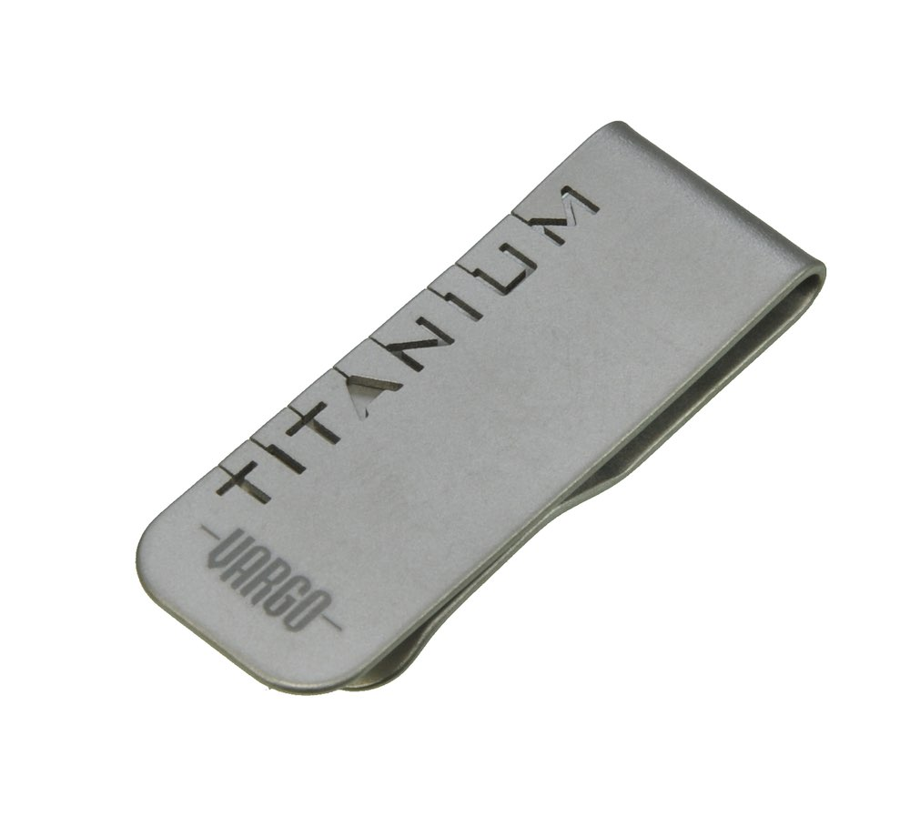VARGO バーゴ チタニウム マネークリップ/チタン クリップ ミニツール