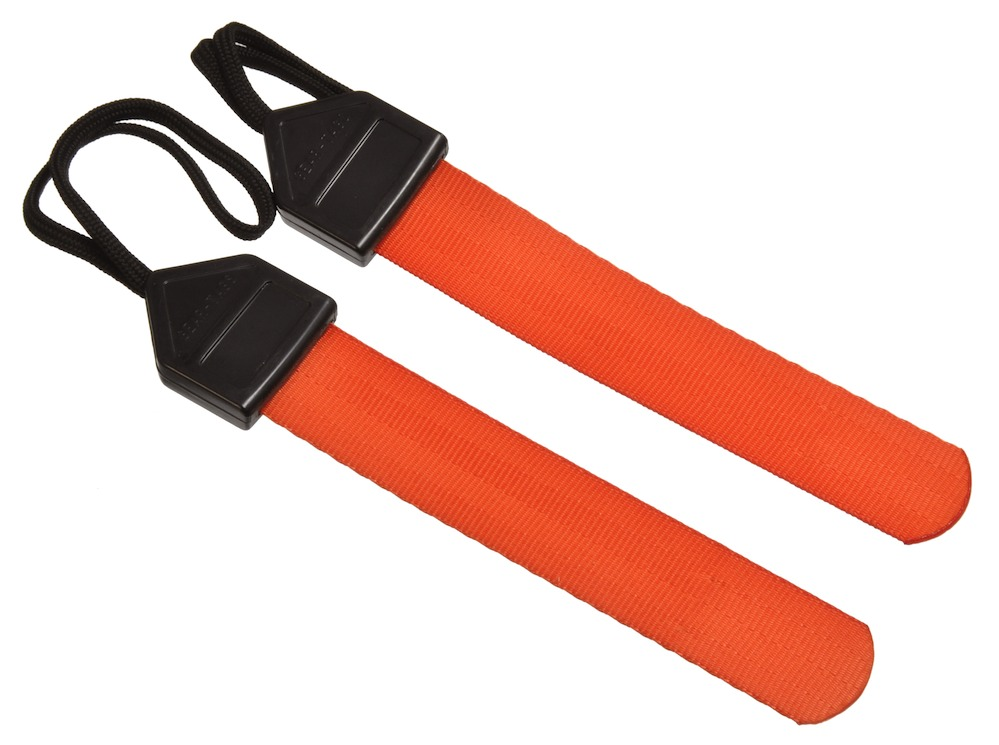 BRIGADE QM ギアタグ 2本セット/ナイロンタグ GEAR TAGS(オレンジ)