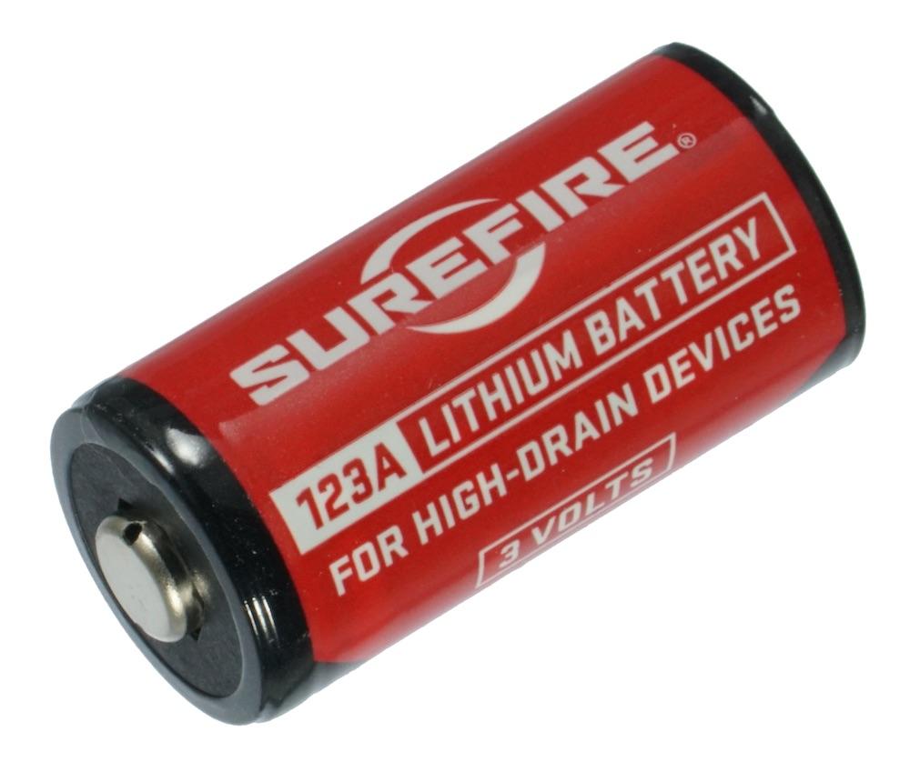 SUREFIREシュアファイア純正 SF123A 3Vリチウム電池 1個 (CR123A)
