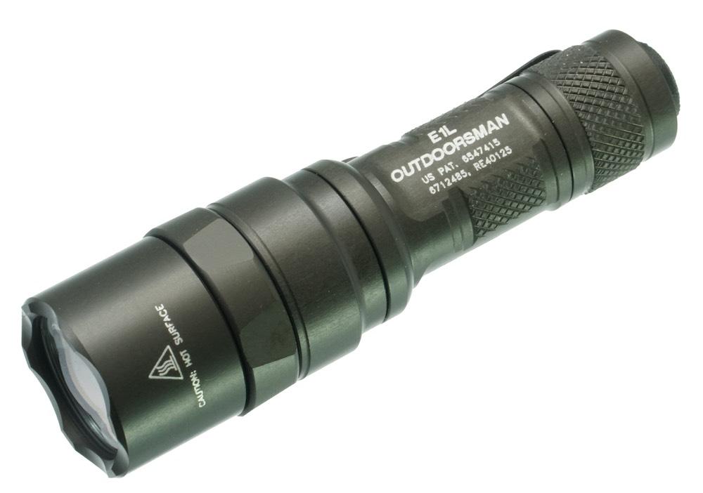 SUREFIRE シュアファイア E1L-A OUTDOORSMAN アウトドアーズマン[90・5LM]LEDライト
