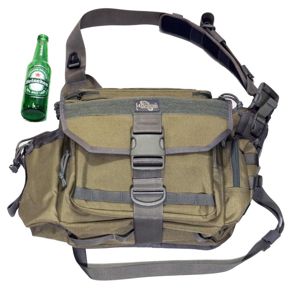 MAXPEDITION モンゴ バーシパック(カーキ/フォーリッジ)#0439KF Mongo Versipack/タクティカルバッグ/ショルダーバッグ