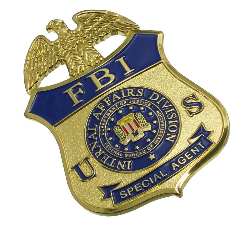 FBI スペシャルエージェント レプリカバッジ