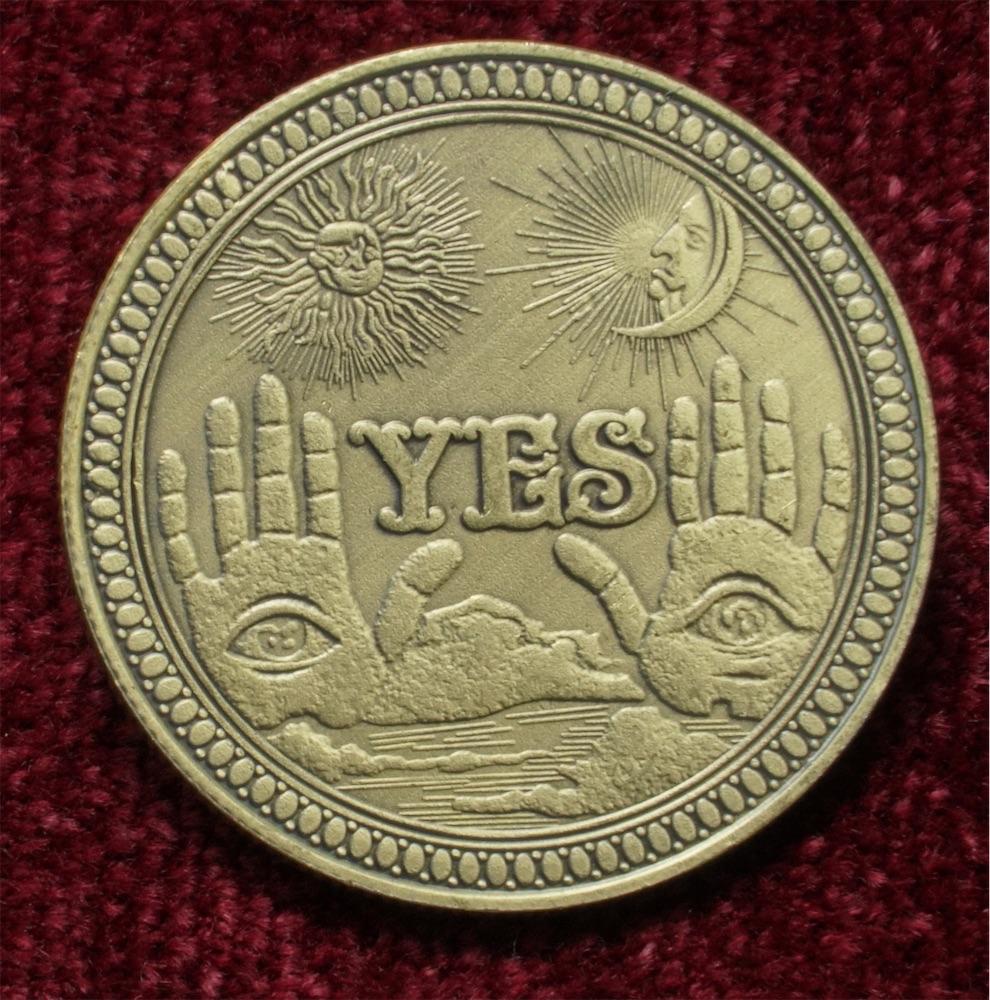 YES-NOコイン チャレンジコイン 1116 / 記念メダル