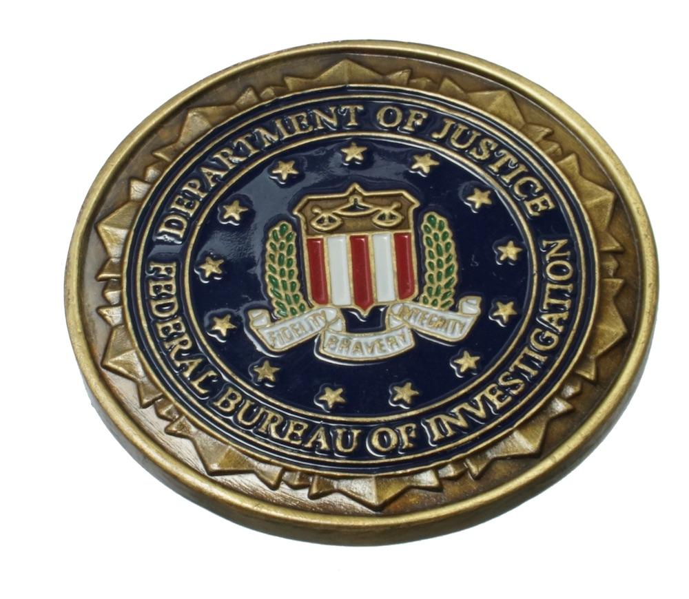 U.S.チャレンジコイン FBI-CT / FBIカウンター・テロリズム・ディビジョン